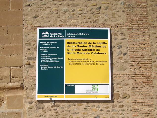 cartel ayuntamiento placa ayuntamiento