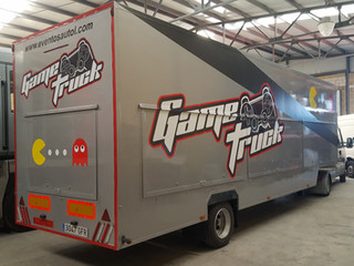 vinilo camión gametruck