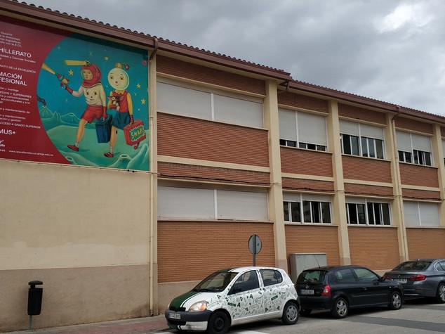 cartel colegio
