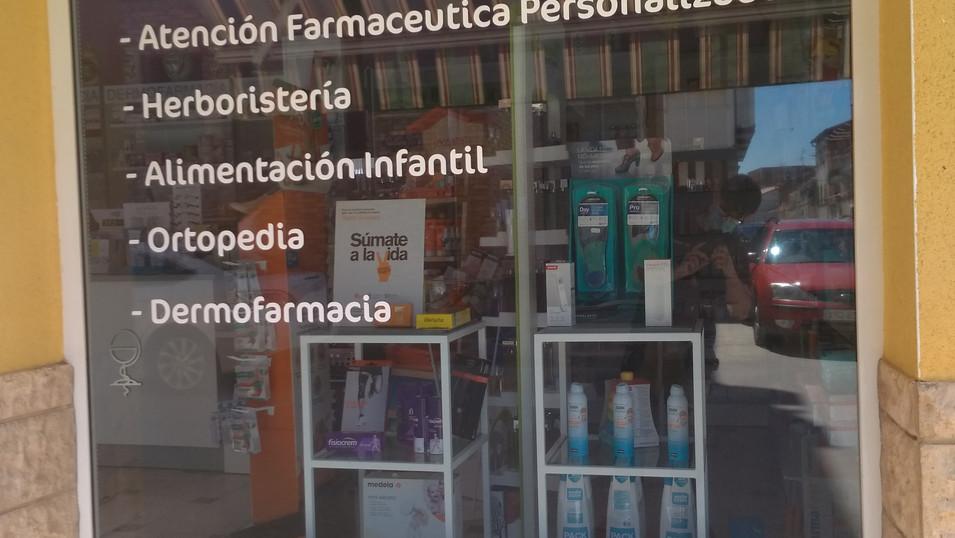 vinilo cristal farmacia vinilo farmacia