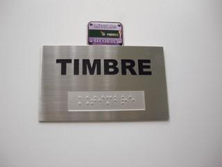 placa oficina placa metacrilato cartel