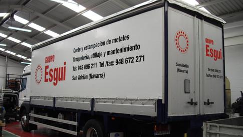rotular camión vinilo camión