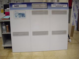 panel 5s panel prevención cartel calidad