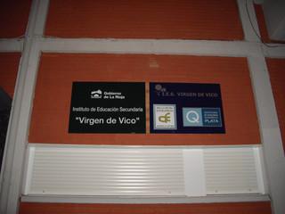 placas instituto placas colegio cartel i