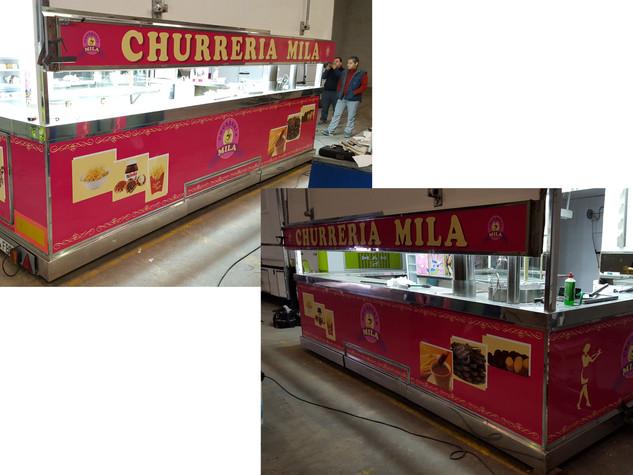 vinilo churreria