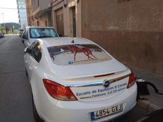 rotular coche vinilo microperforado