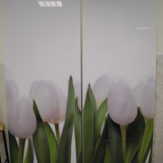 cuadro lienzo cartel metacrilato tulipan