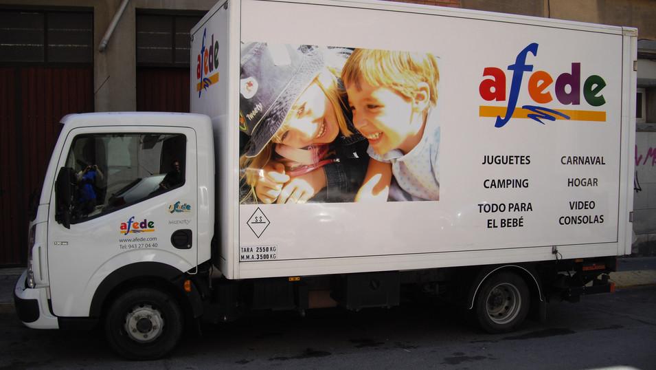 vinilo camión vinilo coche rotular camió