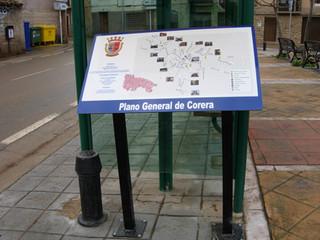 placa mapa ciudad ayuntamiento