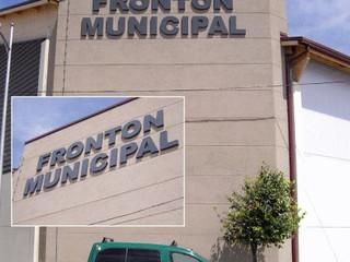 letras ayuntamiento cartel fachada señal