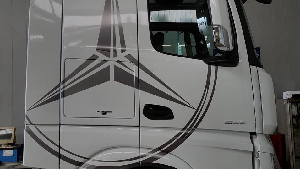 rotular cabina camión vinilo cabina cami