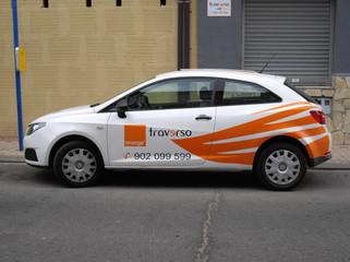rotular coche vinilo empresa
