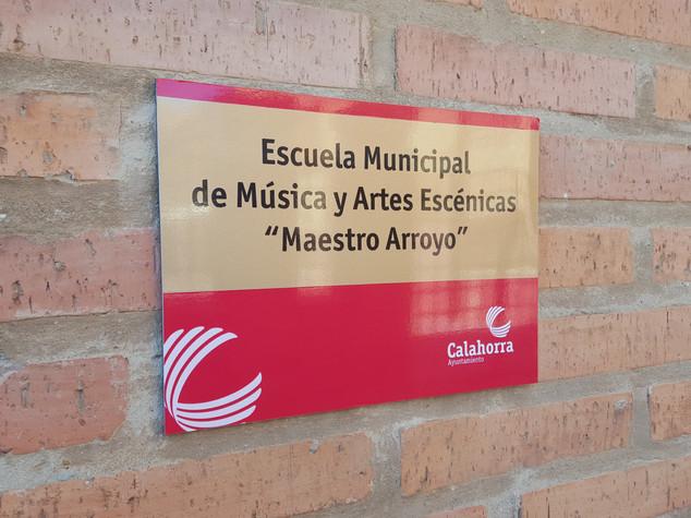 placa ayuntamiento cartel ayuntamiento