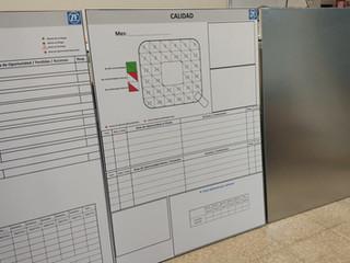 panel 5s producción calidad ehs