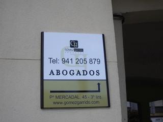 placas corporativas directorios