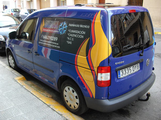 vinilo furgoneta rotular furgoneta preci