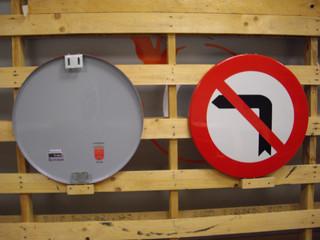señal prohibido señales auntamiento seña