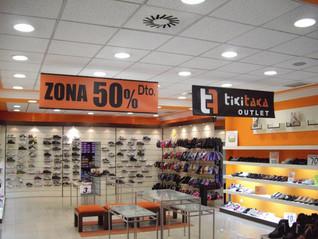 lona promoción tienda