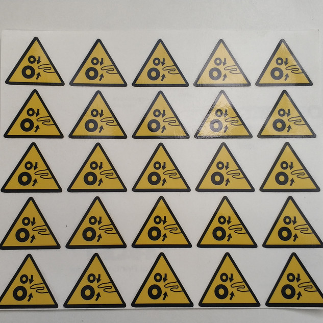 adhesivos pegatinas prevención pegatinas