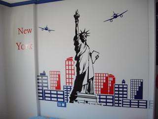 vinilo habitación decorar vinilo pared