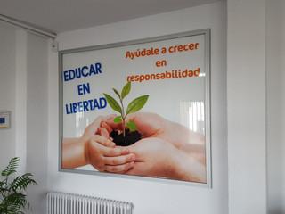 cartel instituto cartel colegio