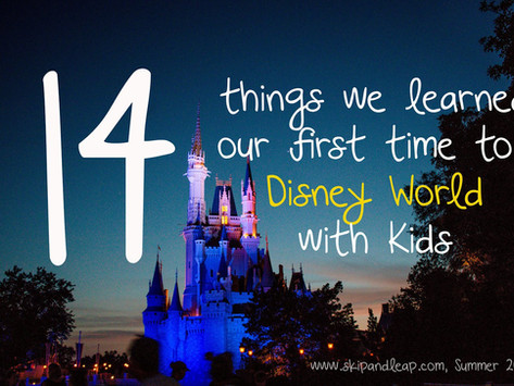 14 Things We Learned Our First Time to Disney World with Kids