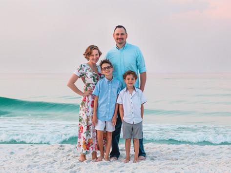 Destin Beach Family Photos