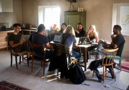 Writers room