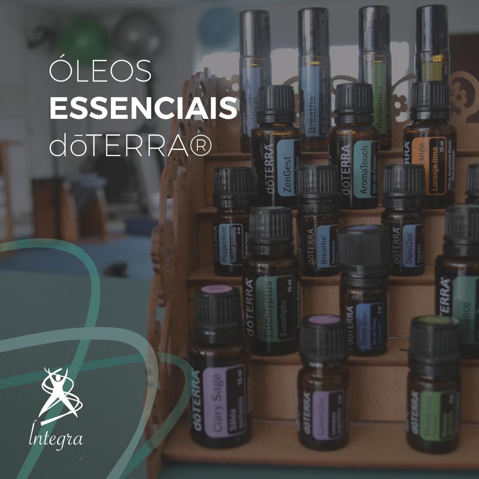 Você já conhece os óleos essenciais dōTERRA®?