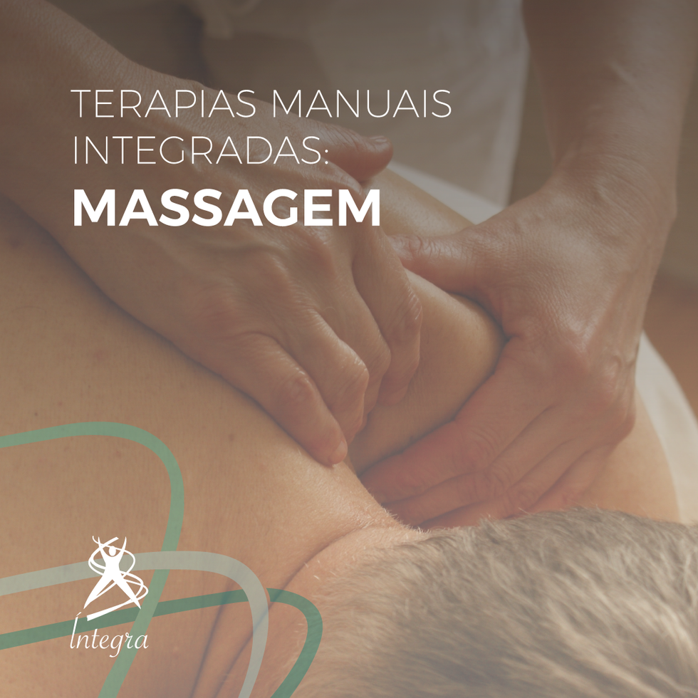 Terapias Manuais Integradas: Massagem