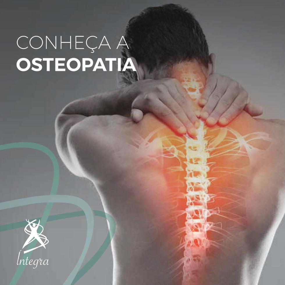 Você sabe o que é Osteopatia?