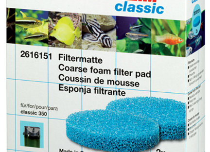 EHEIM Mousse filtrante bleue 2215 (x2)