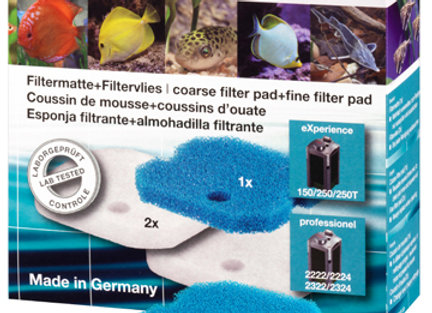 EHEIM Coussin filtrant 2222/24/2322/24 (1 bleu+2 blanc)