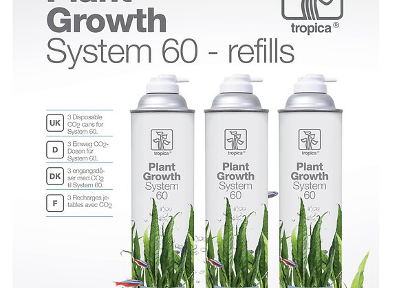 CO2 System 60 refill (recharge)