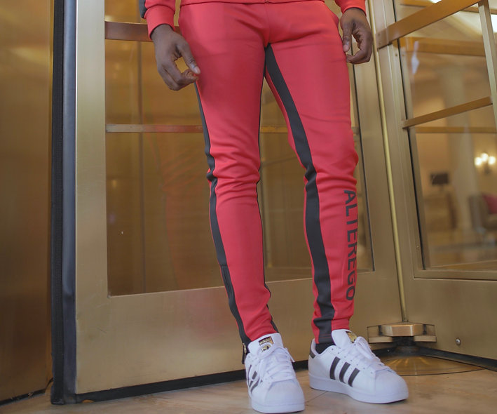 FERRARI RED TRACK PANTS (SOLD OUT)