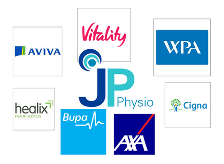 JP Physio is now an approved Physiotherapy provider