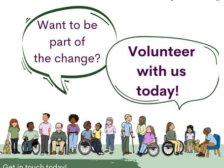 Volunteer Recruitment Week!