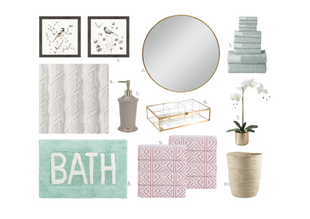 SPRING BATHROOM REFRESH