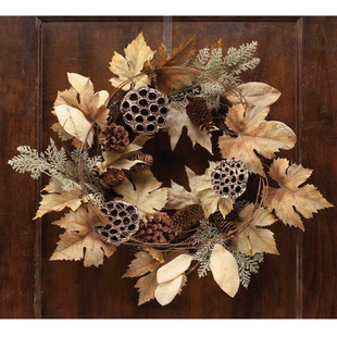 7 FALL WREATHS UNDER $110