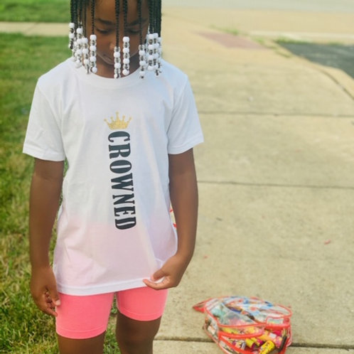 Kids Crowned Tee