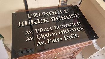 Kadıköy Avukat Tabelası