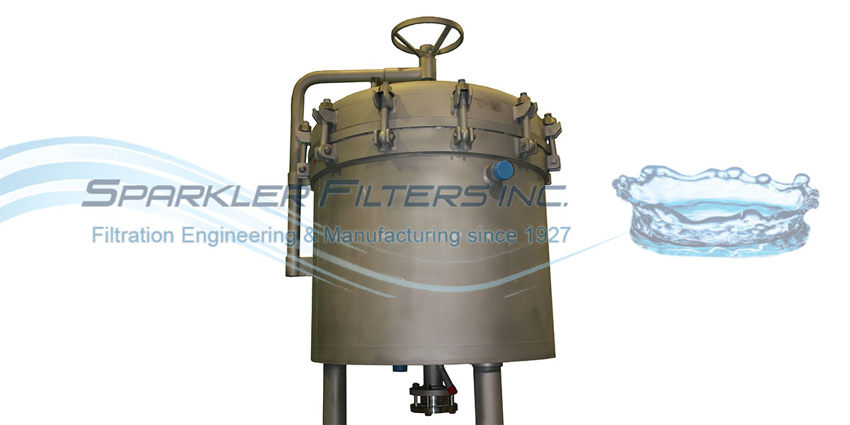 Sparkler Industrial Polishing Pressure Vessel