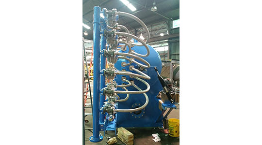 HRC Sparkler Fully Automated Industrial Pressure Vessel Filtration