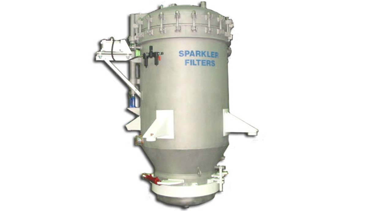 Automatic Vertical Filter- Custom process filtration