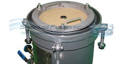 Sparkler Filter suited for DE filtration and activated charcoal pressure vessel