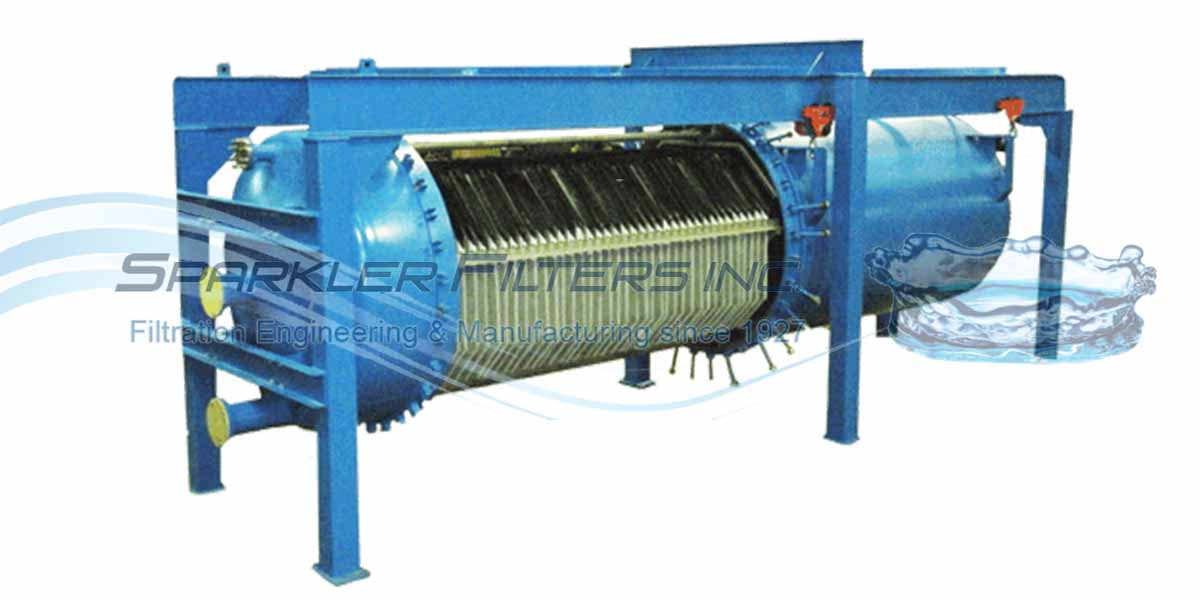 Industrial filter for large scale filtration