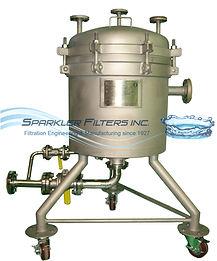 Sparkler Filter; Standard Horizontal Plate Filter