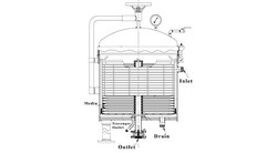 VR Industrial Pressure Vessel for Solid Liquid Separation