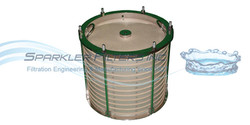 DE Filter, Activated Charcoal ready filter plates