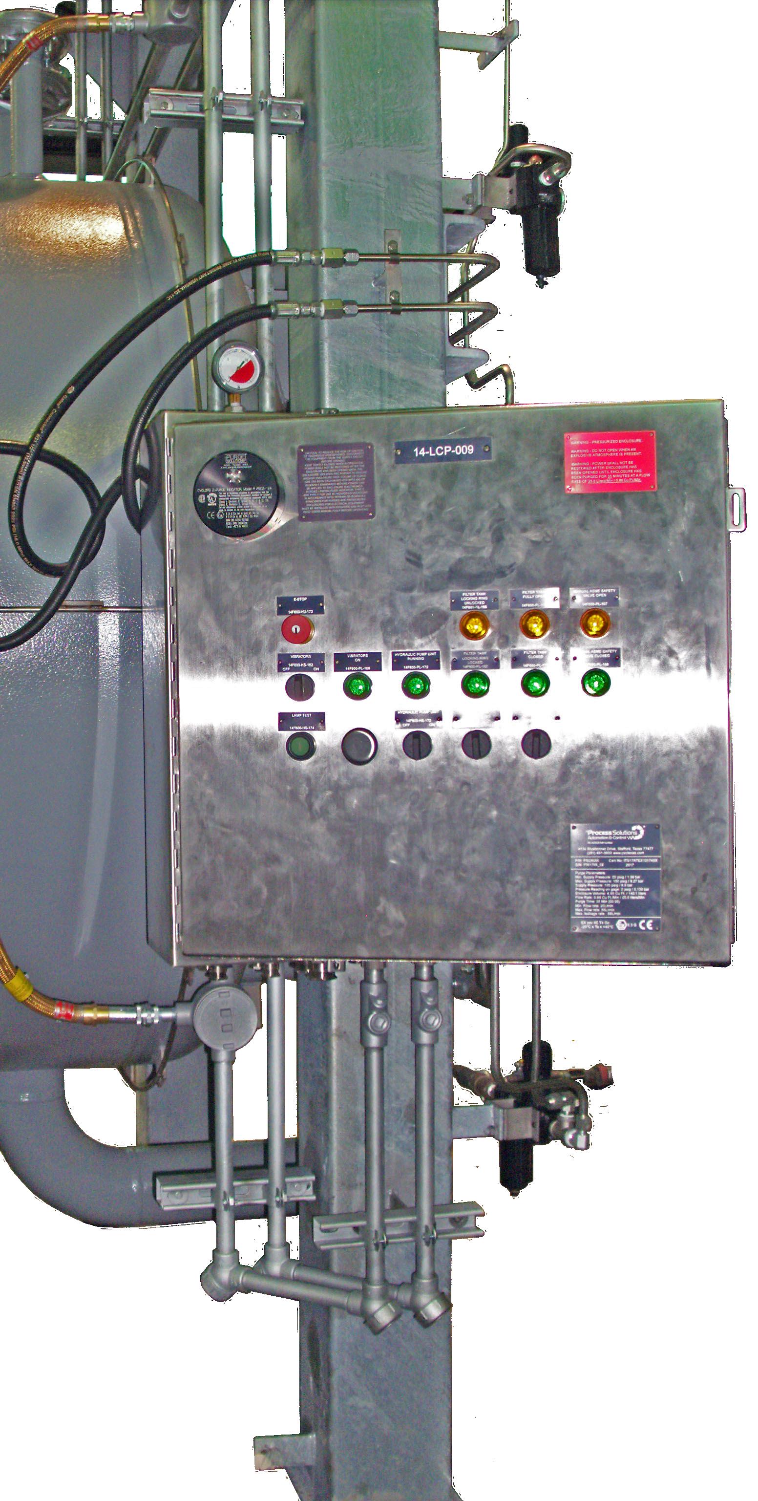 MCRO Control panel